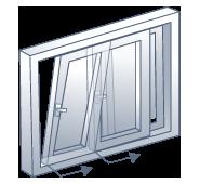 forma apertura oscilo-paralela