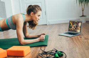 Cómo hacer deporte en casa