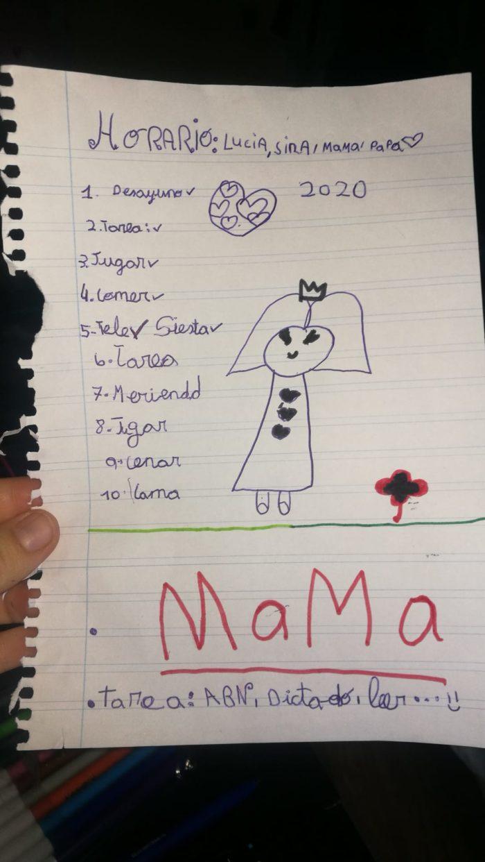 horarios-niños-dibujo